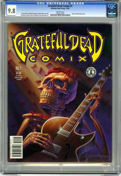 CGC Graded Comics - Grateful Dead Comix #1 (CGC)