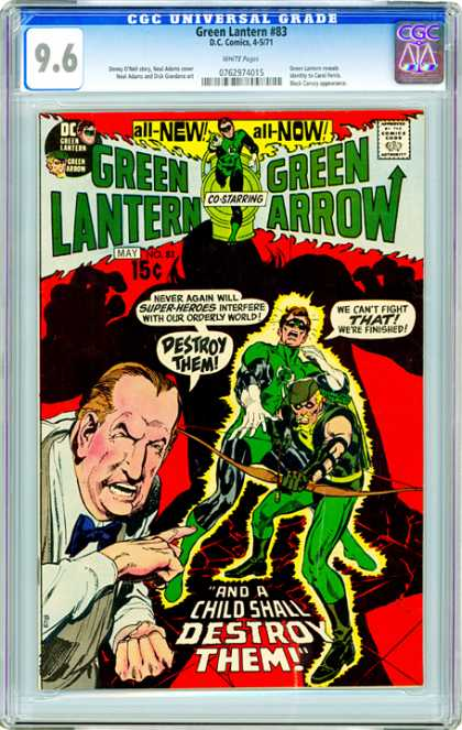 CGC Graded Comics - Green Lantern #83 (CGC)