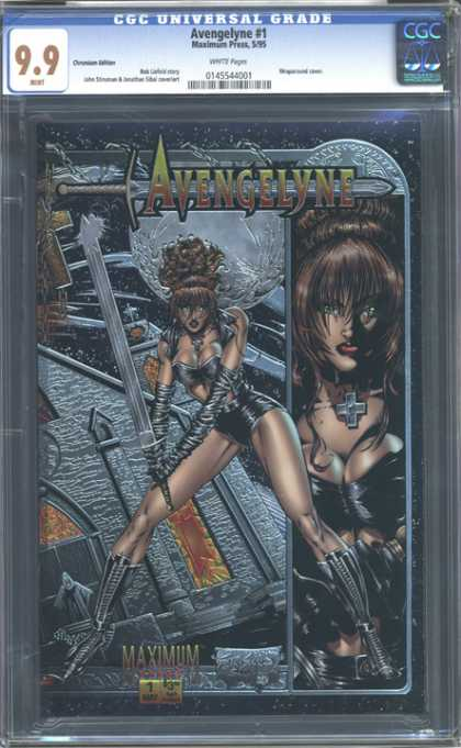 CGC Graded Comics - Avengelyne #1 (CGC)