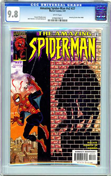 CGC Graded Comics - Amazing Spider-Man #v2 #27 (CGC)