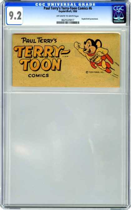 CGC Graded Comics - Paul Terry's Terry-Toon Comics #6 (CGC)
