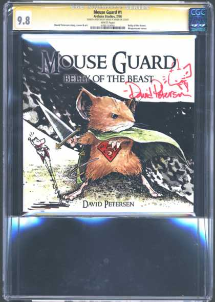 CGC Graded Comics - Mouse Guard #1 (CGC)