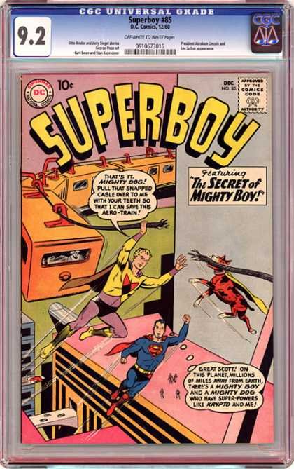 CGC Graded Comics - Superboy #85 (CGC)