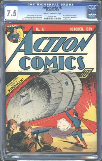 CGC Graded Comics - Action Comics #17 (CGC)