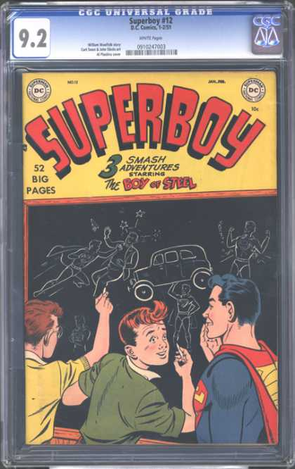 CGC Graded Comics - Superboy #12 (CGC)