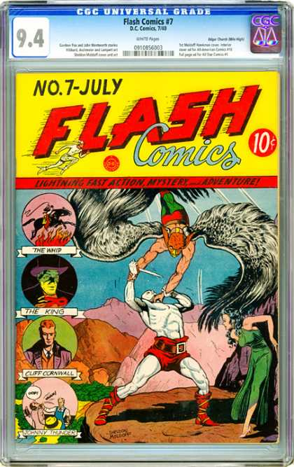 CGC Graded Comics - Flash Comics #7 (CGC)