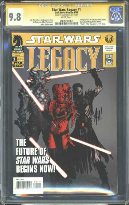 CGC Graded Comics - Star Wars Legacy #1 (CGC)