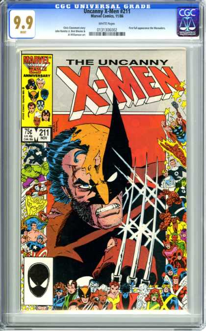 CGC Graded Comics - Uncanny X-Men #211 (CGC)