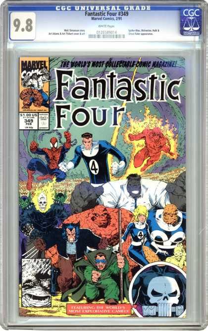 CGC Graded Comics - Fantastic Four #349 (CGC)