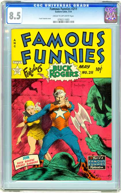 CGC Graded Comics - Famous Funnies #211 (CGC)