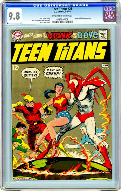 CGC Graded Comics - Teen Titans #21 (CGC)