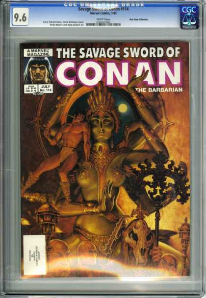 CGC Graded Comics - Savage Sword of Conan #114 (CGC)