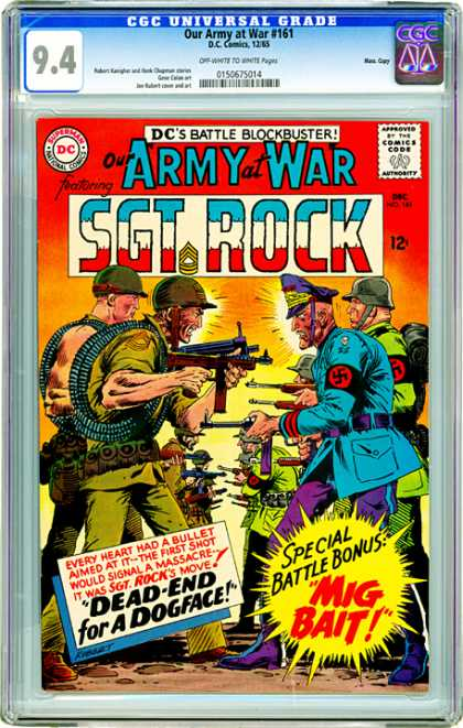 CGC Graded Comics - Our Army at War #161 (CGC)
