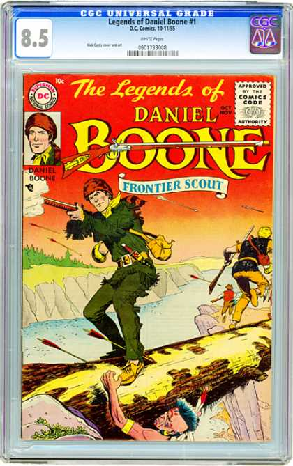 CGC Graded Comics - Legends of Daniel Boone #1 (CGC)