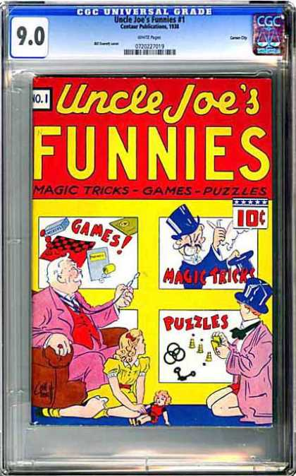 CGC Graded Comics - Uncle Joe's Funnies #1 (CGC)