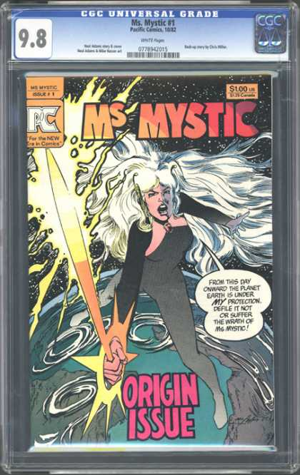 CGC Graded Comics - Ms. Mystic #1 (CGC)