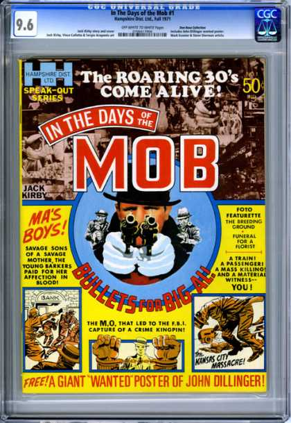 CGC Graded Comics - In The Days of the Mob #1 (CGC)