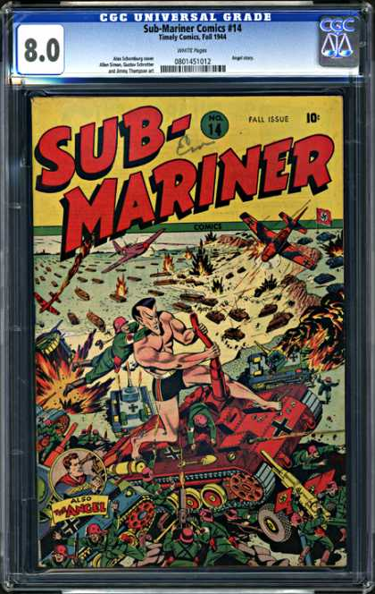 CGC Graded Comics - Sub-Mariner Comics #14 (CGC)