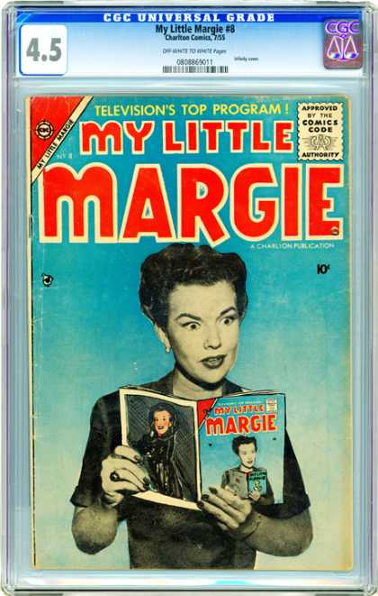 CGC Graded Comics - My Little Margie #8 (CGC)