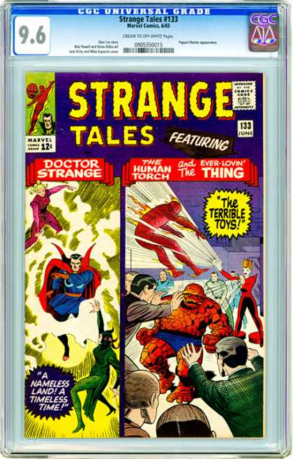 CGC Graded Comics - Strange Tales #133 (CGC)