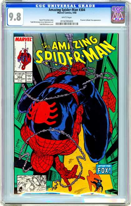 CGC Graded Comics - Amazing Spider-Man #304 (CGC)
