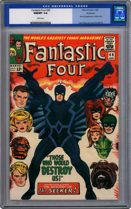 CGC Graded Comics - Fantastic Four #46 (CGC)