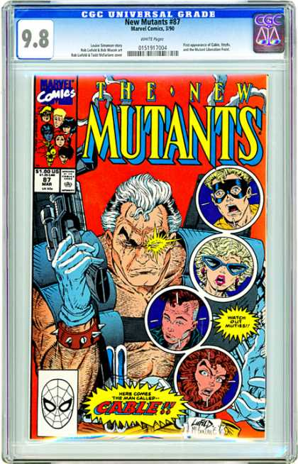CGC Graded Comics - New Mutants #87 (CGC)