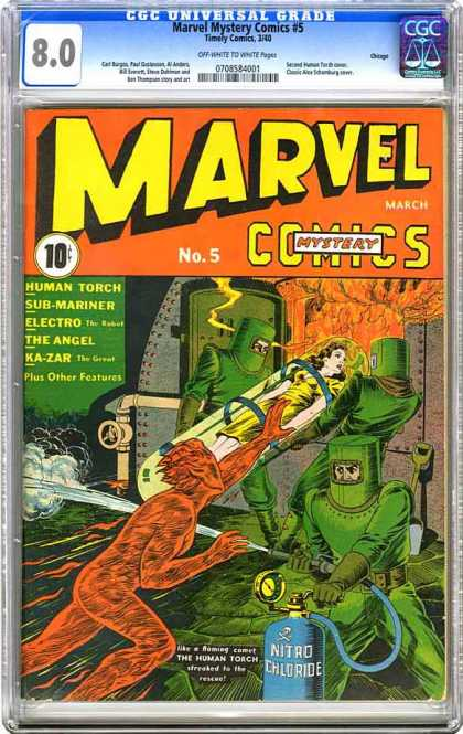 CGC Graded Comics - Marvel Mystery Comics #5 (CGC)