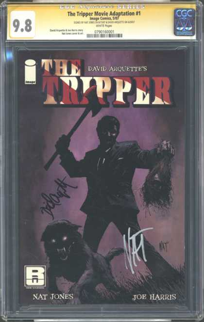 CGC Graded Comics - The Tripper Movie Adaptation #1 (CGC)