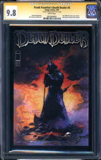 CGC Graded Comics - Frank Frazetta's Death Dealer #1 (CGC)