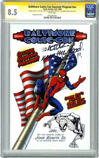 CGC Graded Comics - Baltimore Comic-Con Souvenir Program #nn (CGC)