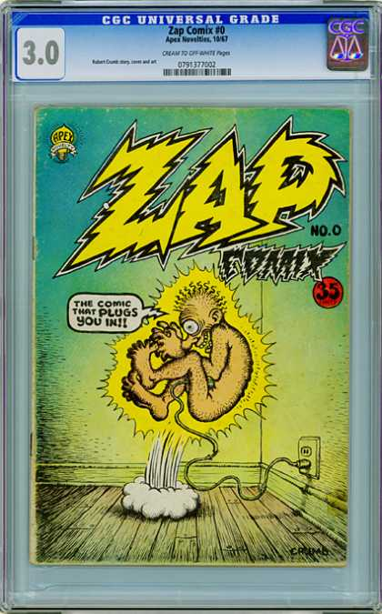 CGC Graded Comics - Zap Comix #0 (CGC)