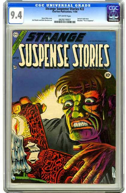 CGC Graded Comics - Strange Suspense Stories #22 (CGC)