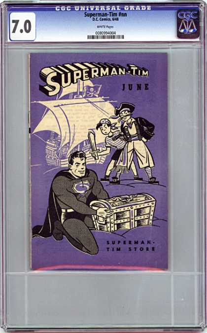 CGC Graded Comics - Superman-Tim #nn (CGC)