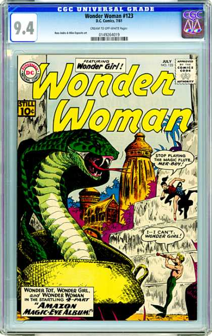 CGC Graded Comics - Wonder Woman #123 (CGC)