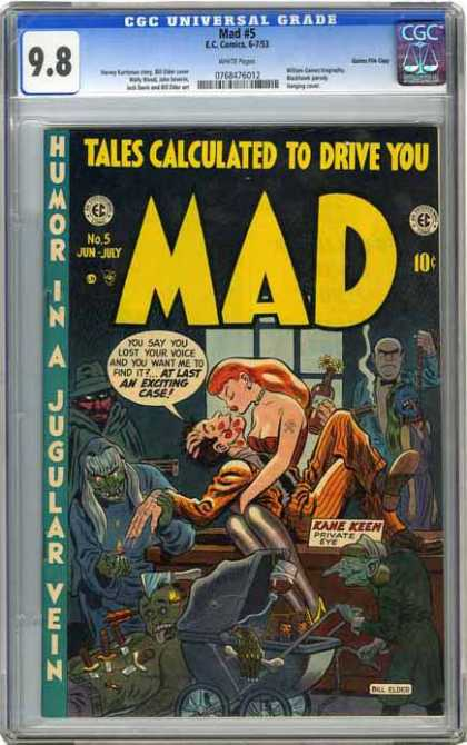 CGC Graded Comics - Mad #5 (CGC)