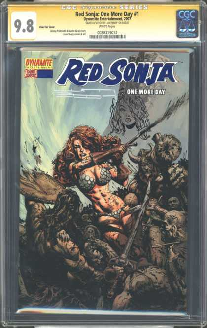 CGC Graded Comics - Red Sonja: One More Day #1 (CGC)