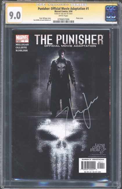 CGC Graded Comics - Punisher: Official Movie Adaptation #1 (CGC)