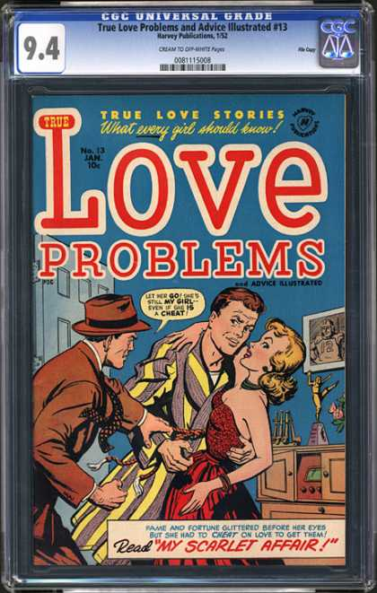 CGC Graded Comics - True Love Problems and Advice Illustrated #13 (CGC)