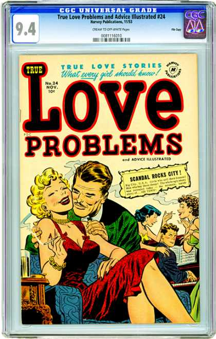 CGC Graded Comics - True Love Problems and Advice Illustrated #24 (CGC)