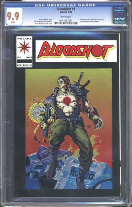 CGC Graded Comics - Bloodshot #1 (CGC)
