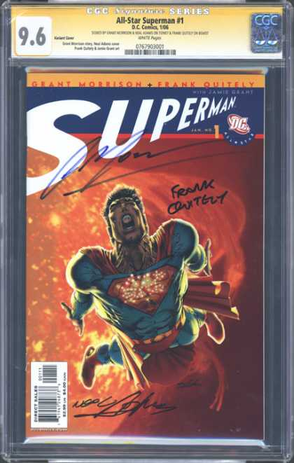 CGC Graded Comics - All-Star Superman #1 (CGC)