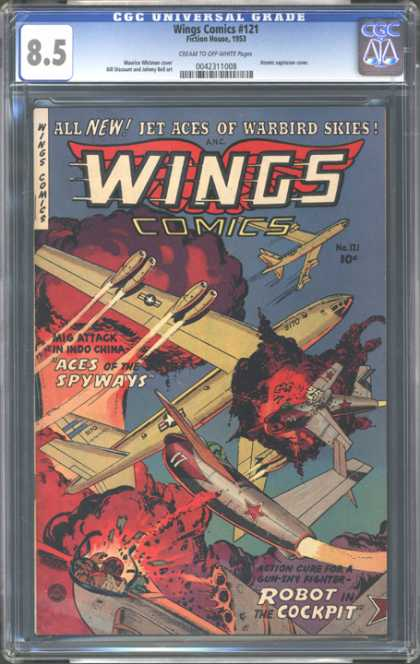 CGC Graded Comics - Wings Comics #121 (CGC)