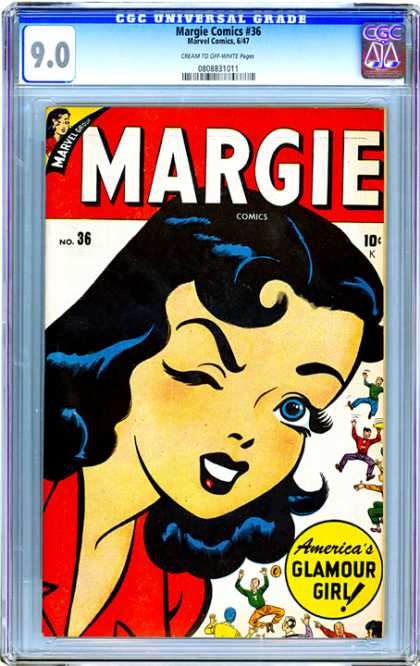 CGC Graded Comics - Margie Comics #36 (CGC)