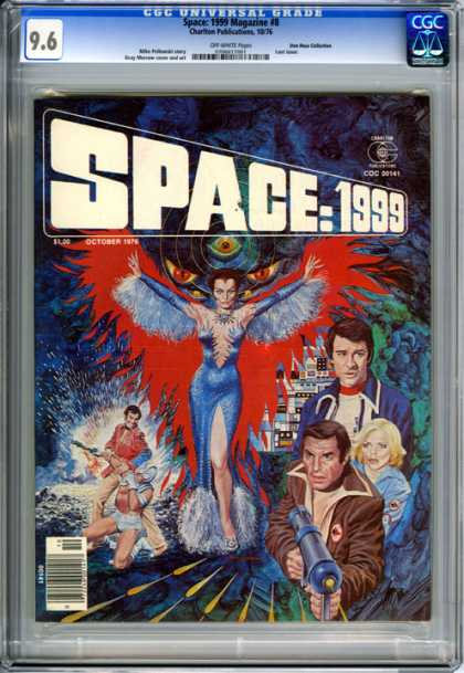 CGC Graded Comics - Space: 1999 Magazine #8 (CGC)