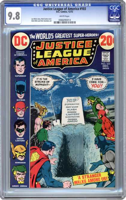 CGC Graded Comics - Justice League of America #103 (CGC)