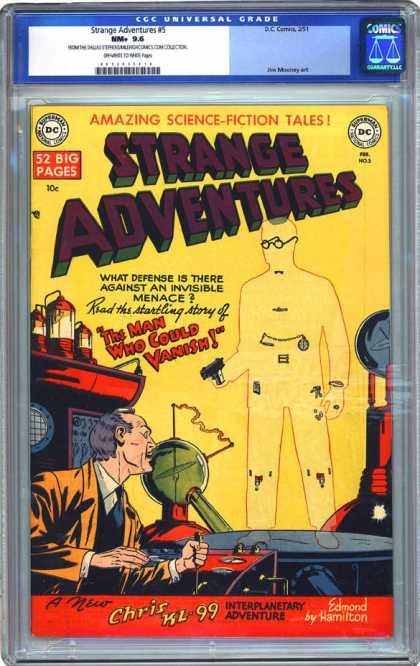 CGC Graded Comics - Strange Adventures #5 (CGC)