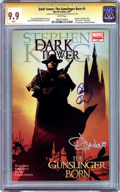 CGC Graded Comics - Dark Tower: The Gunslinger Born #1 (CGC) - Stephen King - The Dark Tower - Marvel Comics - The Gunslinger Born - Peter David