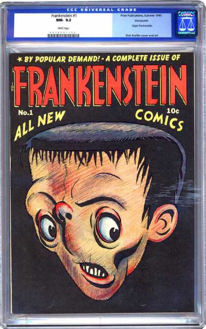 CGC Graded Comics - Frankenstein #1 (CGC)