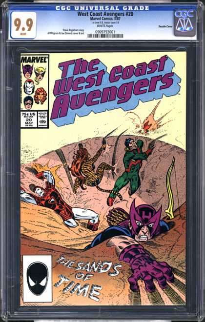 CGC Graded Comics - West Coast Avengers #20 (CGC)